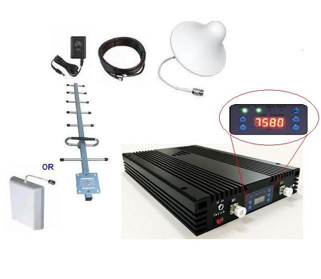 Signal Band Selective Repeater 20dBm 70dB Gain Coverage 500 To 1000sqm With LCD